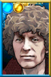 The Fourth Doctor + Burgundy Portrait