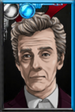 The Twelfth Doctor Antlers Portrait