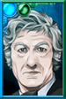 The Third Doctor + Portrait Portrait