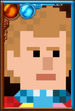 The Sixth Doctor + Pixelated Portrait