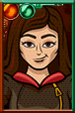 Clara Oswald Cartoony Portrait