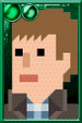 Rory Williams + Pixelated Vest Portrait