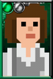 Fan Sarah Jane Smith Pixelated Portrait