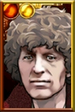 The Fourth Doctor Burgundy Portrait