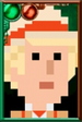 The Fifth Doctor Pixelated Portrait