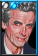The Twelfth Doctor Comics Guitar Portrait