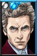 The Twelfth Doctor Velvet Suit Portrait