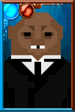 Fan Area Strax Pixelated Portrait