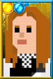 Amy Pond + Pixelated Kissogram Portrait