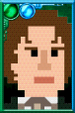 The Eighth Doctor + Pixelated Movie Portrait