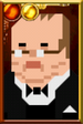 Winston Churchill Pixelated Portrait
