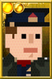 Jack Harkness Pixelated Captain Portrait