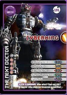 Cyberking Villian