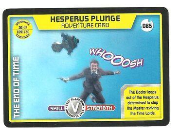 Hesperus plunge-common