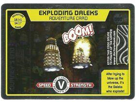 Exploding daleks-rare