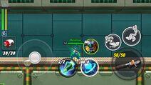 Rockman X DiVE CBT buttons