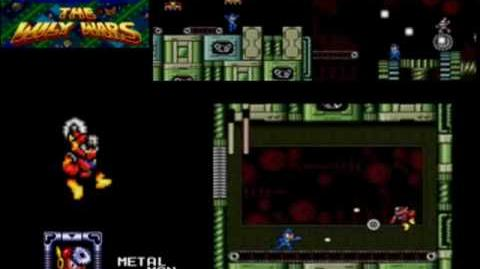 Mega Man The Wily Wars - Metal Man (Mega Man 2)