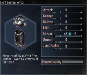 Light Leather Armor