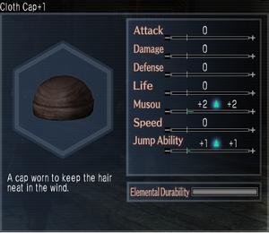 Cloth Cap +1