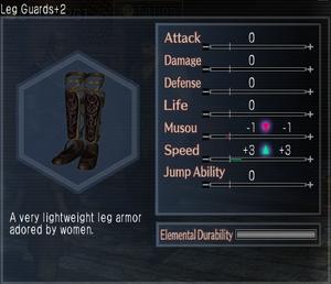 Leg Guards +2