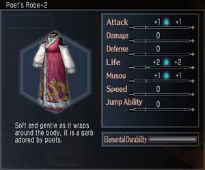 Poet's Robe +2