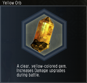 Yellow Orb