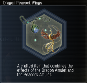 Dragon Peacock Wings