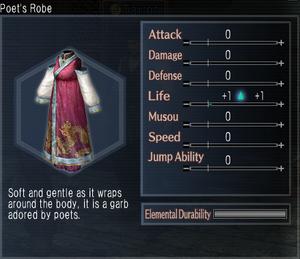 Poet's Robe
