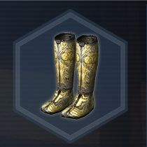 Silver Boots P
