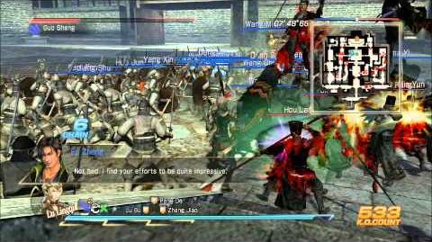 Dynasty Warrior 8 Xtreme Legend Ambition Mode Final Battle against Fake Emperor