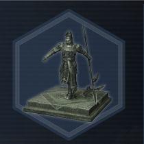 Lu meng statue