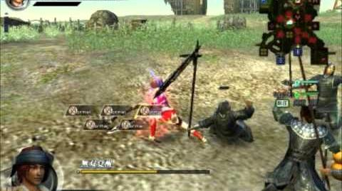 Dynasty Warrior Online Z Sun Shangxiang Moveset