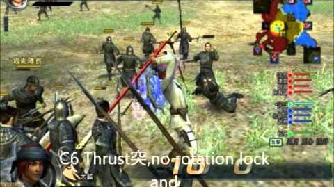 Dynasty Warrior Online Z Great Axe Moveset 大鉞