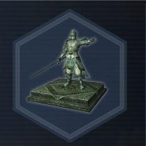 Liu bei statue