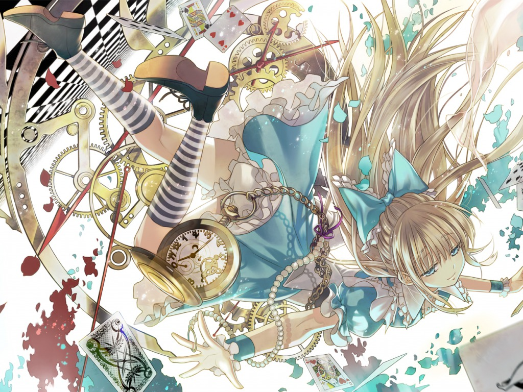 image - alice-in-wonderland-wallpaper-anime-girls-34977101-1024-768