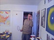 Meddler after badminton
