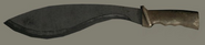 Brown Khukuri Knife