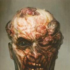 Wczesny koncept wyglądu twarzy Nocnego Łowcy