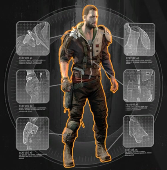 dying light ninja outfit perks
