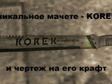 Мачете Korek