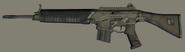 Camo Police Rifle