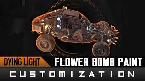 Dying Light The Following - Flower Bomb Paint Job Location