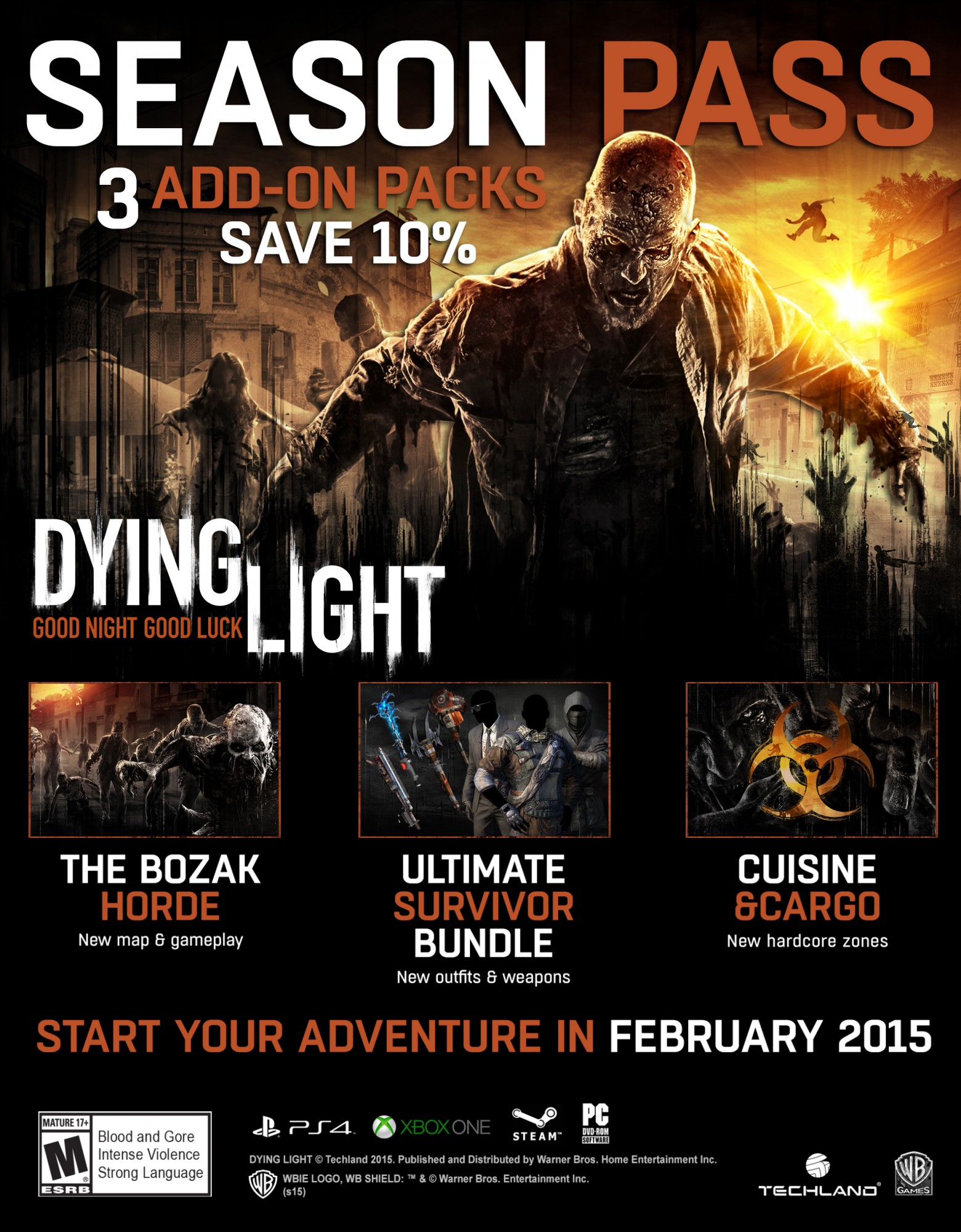Downloadable content dying light wiki fandom powered by wikia downloadable content malvernweather Image collections