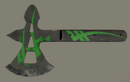 Extravagant Medieval Throwing Axe