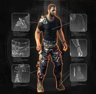 Yakuza Outfit