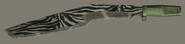 Zebra Machete