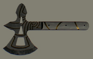 Legendary Medieval Throwing Axe 2