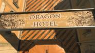 Dragon Hotel sign
