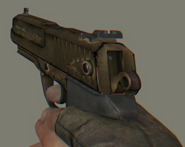 Golden German Pistol