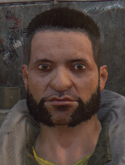 Dying light tower courtyard guard (3)